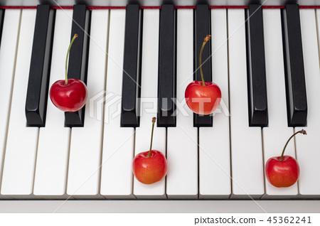 체리 가르치는 피아노 코드 Major 7th 시리즈 - D # M7 / EbM7 45362241