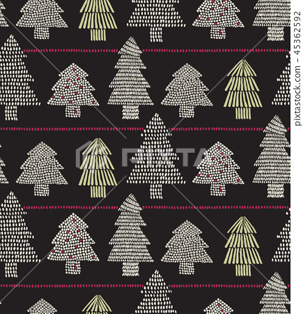 Vector illustration of a seamless pattern  45362592