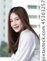 Asian woman 45363257