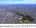 Aerial view of Ishigami Park / suburban residential area, aerial view, 2018 shooting 45364774