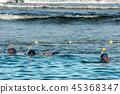 snorkeling, snorkel, sea 45368347
