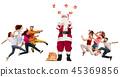 christmas, gift, present 45369856