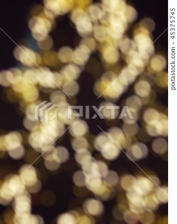 Bright Warm Lights Bokeh Background. 45375745