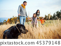 family, people, dog 45379148