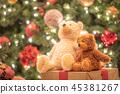 聖誕節圖像玩具熊 45381267