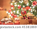 크리스마스 이미지 호두 까기 인형 45381869