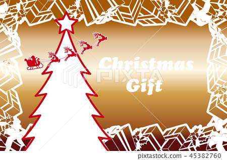 Background Material Present Christmas Sale Stock