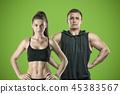 woman, male, couple 45383567