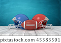 football, helmet, sport 45383591