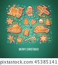 christmas, gingerbread, xmas 45385141