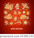 christmas, gingerbread, xmas 45385143