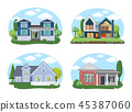 house exterior residential 45387060