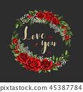 紅色 紅 玫瑰 45387784