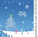 聖誕快樂的插圖 45393653