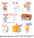 mouse cartoon character 45401657
