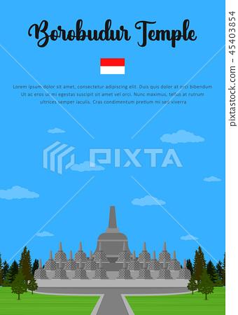 Borobudur Temple in Indonesian 45403854