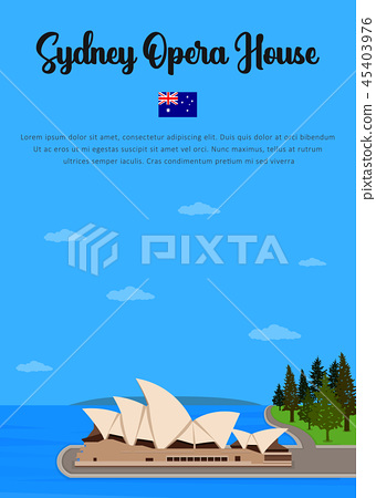 Sydney Opera House in Australia 45403976