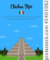 Chichen Itza in Mexico 45403982
