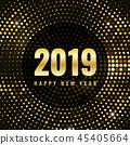 2019 new year 45405664