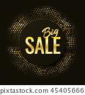 Black friday sale banner. 45405666