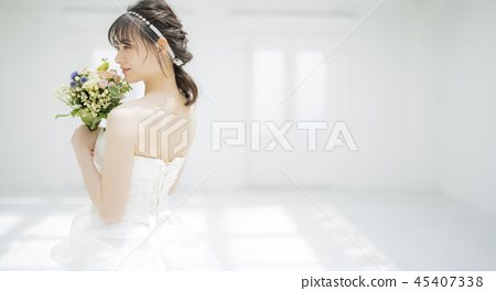 여성 결혼 신부 이미지 45407338