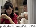 男人和女人 男女 咖啡 45407956