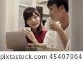 夫妇 一对 情侣 45407964