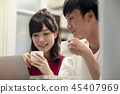 夫妇 一对 情侣 45407969