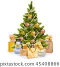 christmas tree gifts 45408866