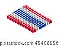 벡터, 깃발, 기 45408956