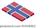벡터, 깃발, 기 45408962