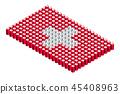 벡터, 깃발, 기 45408963