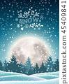 christmas, tree, snow 45409841