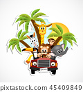 animals in the car 45409849