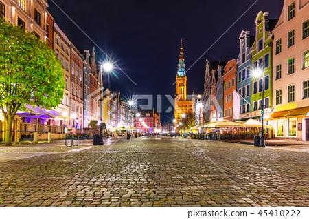 Dlugi Targ Square in Gdansk, Poland 45410222