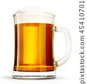 beer, glass, lager 45410701