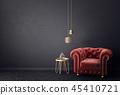 armchair interior room 45410721