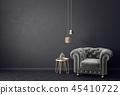 armchair interior room 45410722