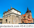 Upland Gate and Prison Tower in Gdansk, Poland 45411051