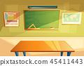 school, college classroom interior, training room 45411443