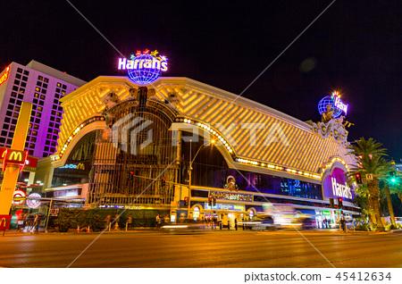 Night view of Las Vegas 45412634