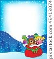 frame, Christmas, xmas 45413074