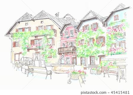 世界遺產的街道 - 哈爾施塔特可愛的開放空間 45415481