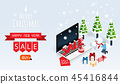 merry christmas and happy new year gift box ,chris 45416844