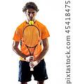 网球 男性 男人 45418475