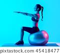 Exercises, Fitness, ball 45418477