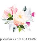 element floral pattern 45419492