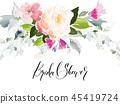 element floral pattern 45419724