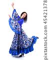 dancer, dress, female 45421378