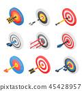 target, icon, set 45428957